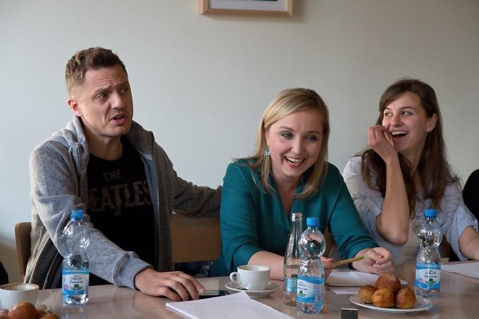 Ondřej Ruml, Jana Trojanová, Hana Marvanová (foto: Michal Novák)