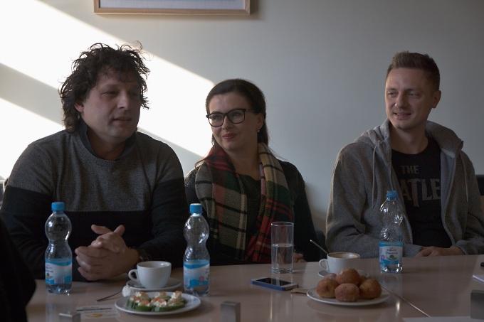 Miroslav Dvořák, Dana Morávková, Ondřej Ruml (foto: Michal Novák)