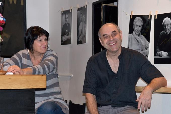 Yvetta Srbová a Miroslav Táborský na tiskové besedě (foto: Michal Novák)