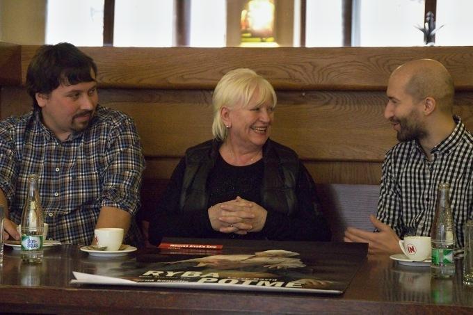 Jan Šotkovský, Zdena Herfortová, Mikoláš Tyc (foto: Michal Novák)