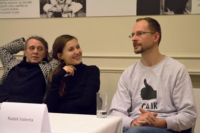 Jan Nebeský, Tereza Dočkalová, Radek Valenta (foto: Michal Novák)