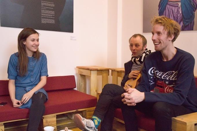 Tereza Dočkalová, Jakub Albrecht, Tomáš Dianiška (foto: Michal Novák)