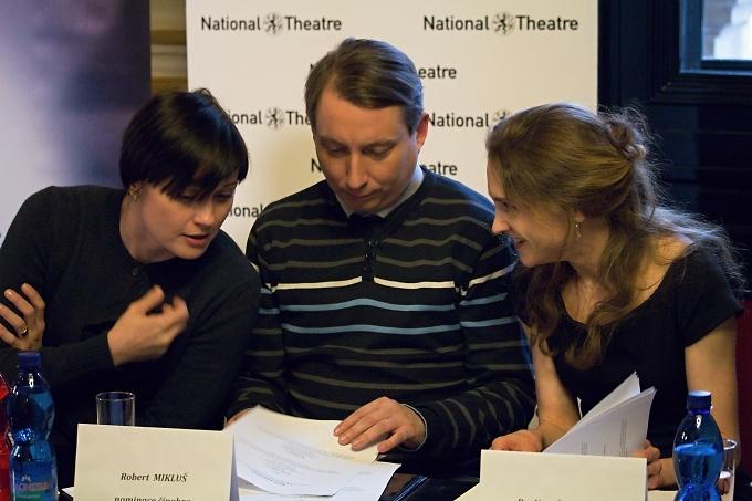 Hana Tomáš Briešťanská, Robert Mikluš, Pavlína Štorková (foto: Michal Novák)