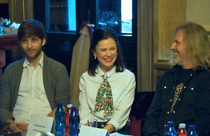 Roman Tomeš, Ivana Korolová, Josef Vojtek (foto: Michal Novák)