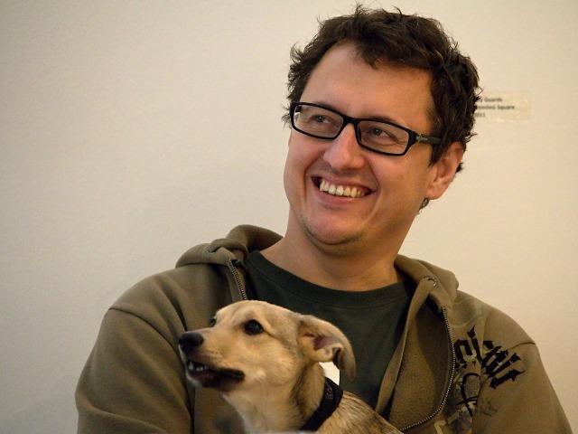 autor festivalového vizuálu David Kakalík (foto: Michal Novák)
