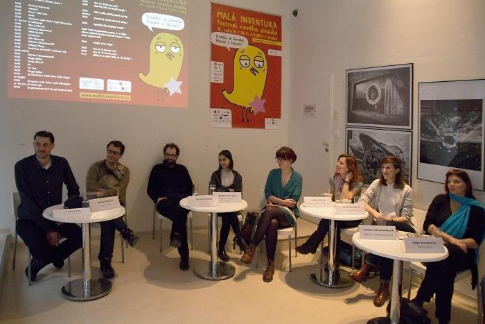 tiskové setkání v Českém centru (foto: Michal Novák)