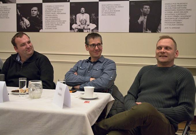 Ladislav Stýblo, Zdeněk Kupka, Ondřej Volejník (foto: Michal Novák)