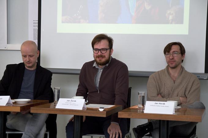 Petr Nerušil, Jan Žůrek, Jan Horák (foto: Michal Novák)