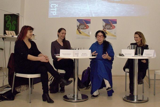 Yvona Kreuzmannová, Markéta Perround, Nina Vangeli, Tereza Svěráková (foto: Michal Novák)