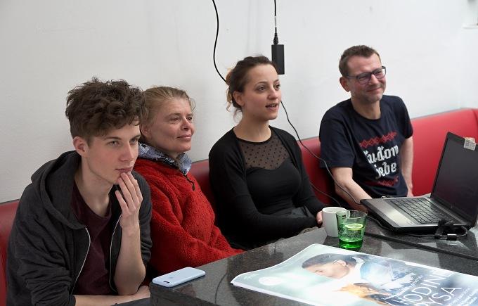 Daniel Krejčík, Zuzana Bydžovská, Petra Horváthová, Radim Špaček (foto: Michal Novák)