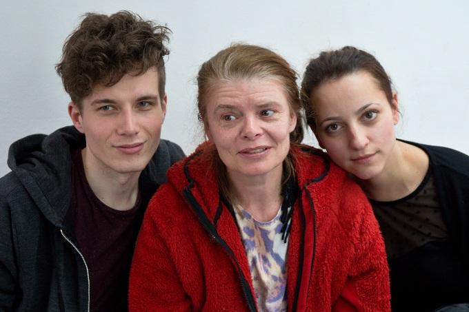 Daniel Krejčík, Zuzana Bydžovská, Petra Horváthová (foto: Michal Novák)