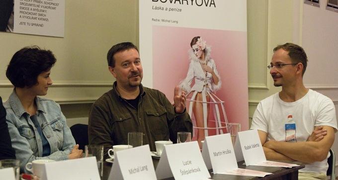 Lucie Štěpánková, Martin Hruška, Radek Valenta