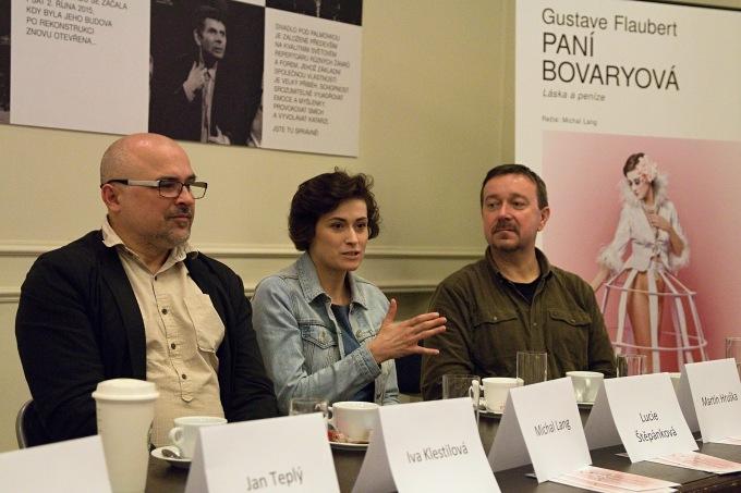 Michal Lang, Lucie Štěpánková, Martin Hruška