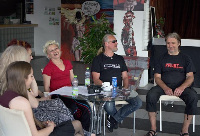 Irina Andreeva, Kamil Střihavka, Milan Steigerwald