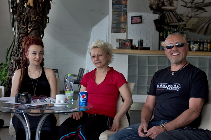 Blanka Křemenová, Irina Andreeva, Kamil Střihavka