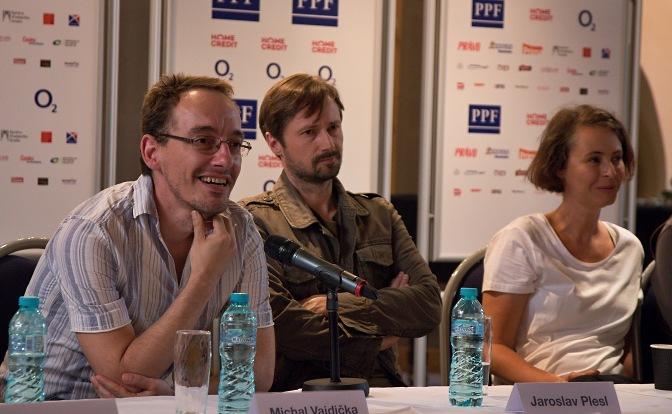 Michal Vajdička, Jaroslav Plesl, Lenka Vlasáková