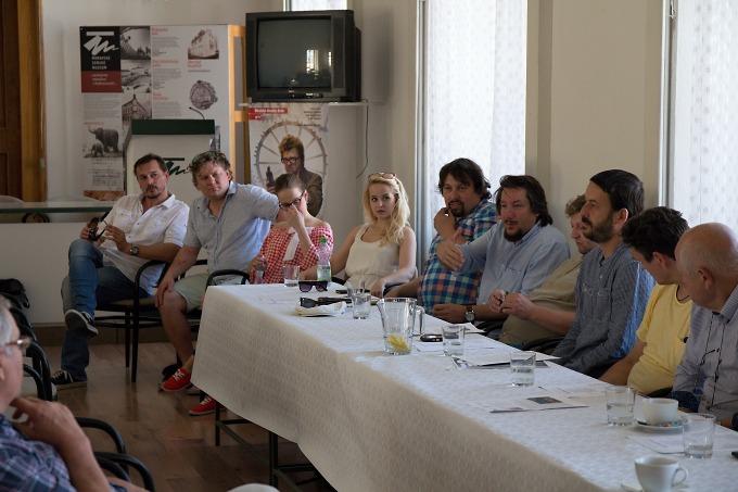 na tiskovém setkání v Moravském zemském muzeu