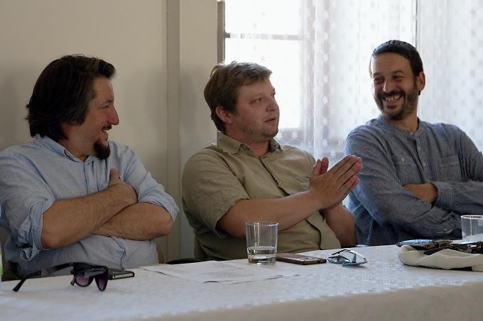 Miroslav Ondra, Michal Isteník, Stano Slovák