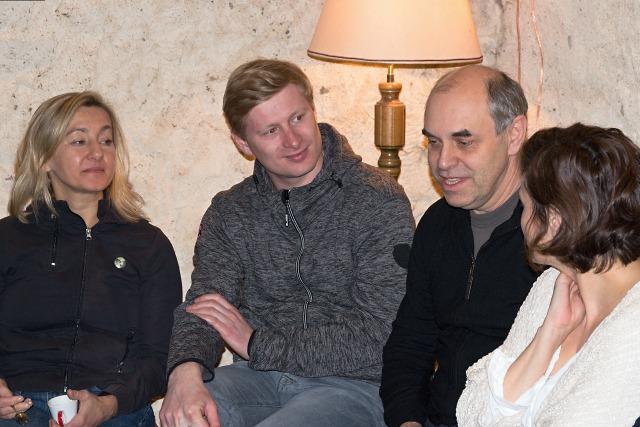 Vanda Hybnerová, Ladislav Hampl, Miroslav Táborský