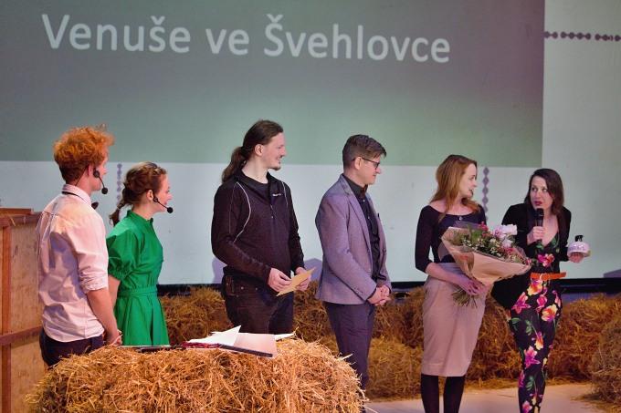 Cenu Česká divadelní DNA přebírá tým Venuše ve Švehlovce