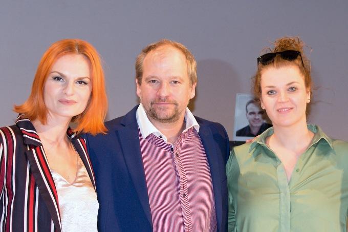 Iva Pazderková, Marek Taclík, Martina Šťastná