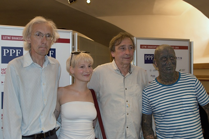 Jan Antonín Pitínský, Anna Fialová, Ondřej Pavelka, Vladimír Franz