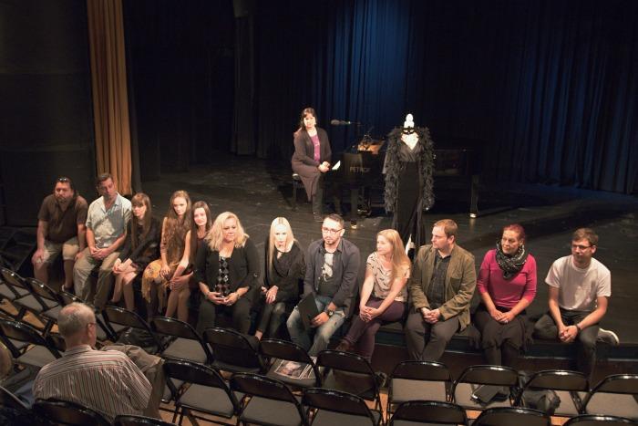 na tiskovém setkání v Divadle Semafor