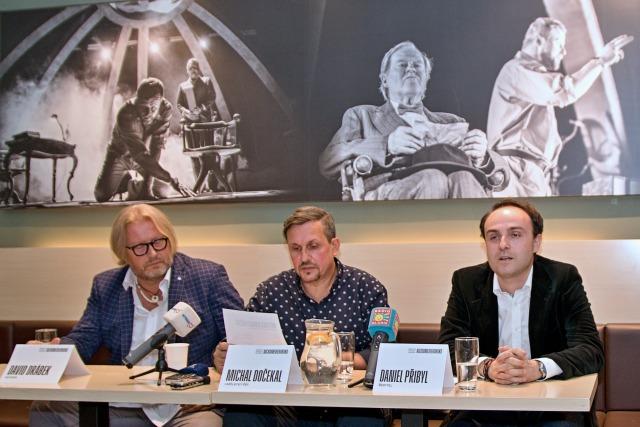 David Drábek, Michal Dočekal a Daniel Přibyl představují novou koncepci MDP