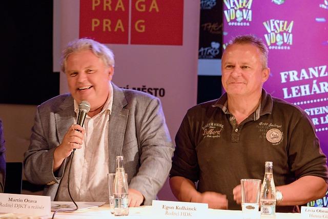 ředitelé... Martin Otava a Egon Kulhánek