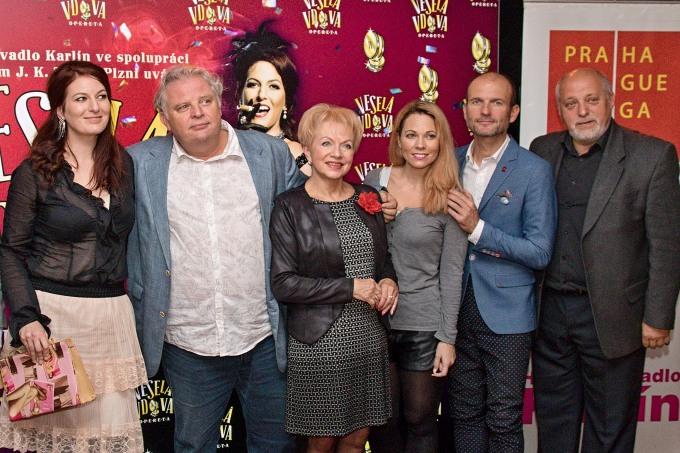 Lívia Obručnik Vénosová, Martin Otava, Pavla Břínková, Michaela Nosková, Dalibor Gondík, Jan Ježek