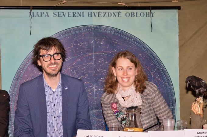 hvězdní režiséři Ivo Kristian Kubák a Martina Schlegelová