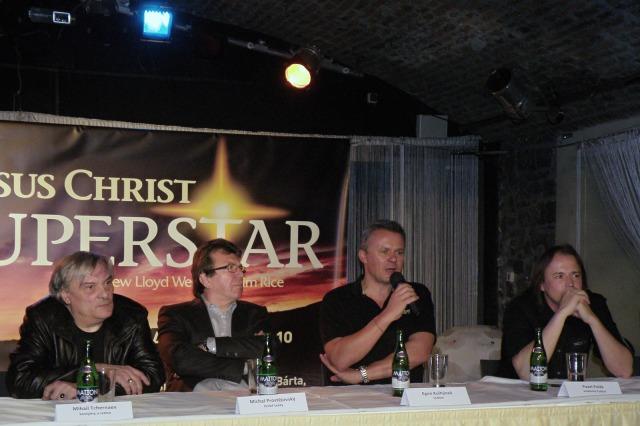 Mihail Tchernaev, Michael Prostějovský, Egon Kulhánek, Pavel Polák