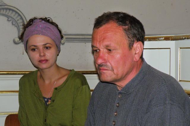 Lucie Žáčková, Miroslav Krobot