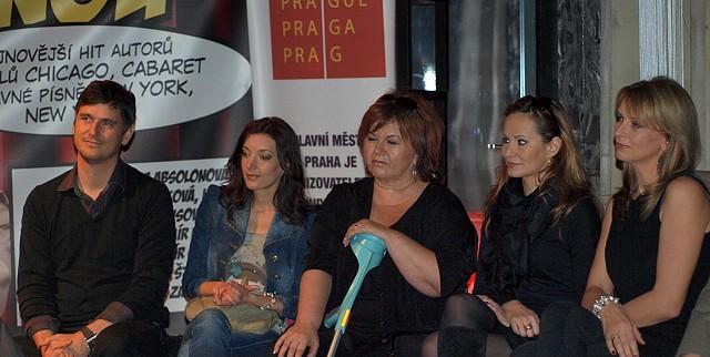 Lumír Olšovský, Dasha, Hana Křížková, Monika Absolonová, Ivana Chýlková