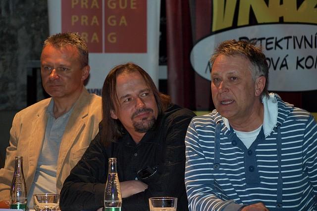Egon Kulhánek, Pavel Polák, Antonín Procházka