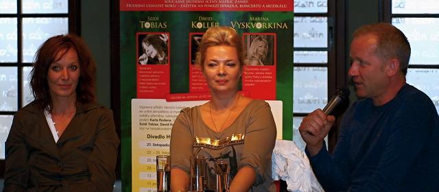 Szidi Tobias, Marina Vyskvorkina, David Koller