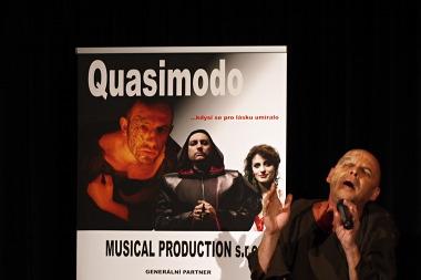 Přípravy muzikálu Quasimodo vrcholí
