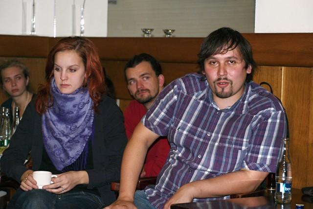 Viktória Matušovová, Jan Šotkovský, Dušan Vitázek