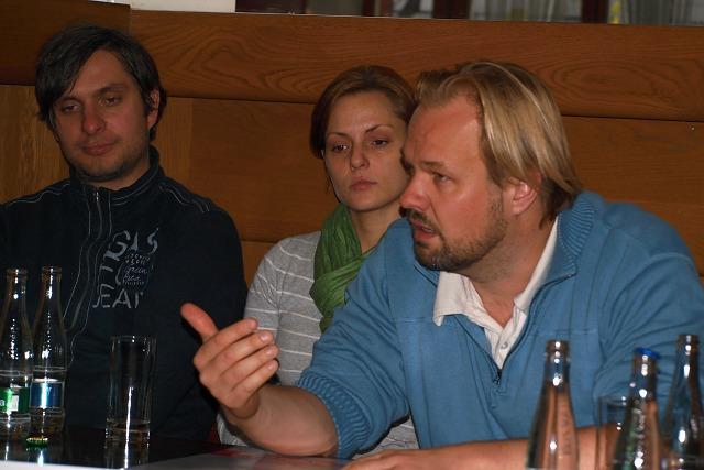 Karel Škarka, Lucie Holánková, Petr Gazdík