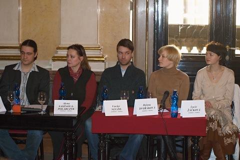 Ladislav Špiner, Alena Sasínová-Polarczyk, Václav Neužil, Helena Dvořáková, Lucie Žáčková