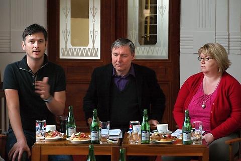 Lumír Olšovský, Petr Dohnal, Jana Uherová