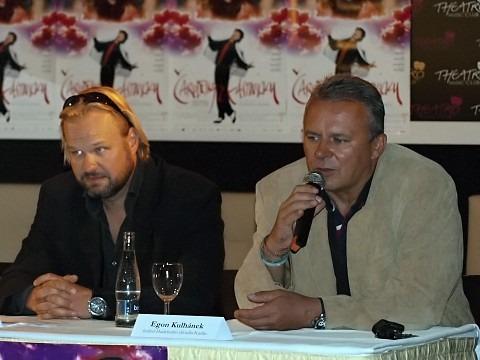 Petr Gazdík, Egon Kulhánek