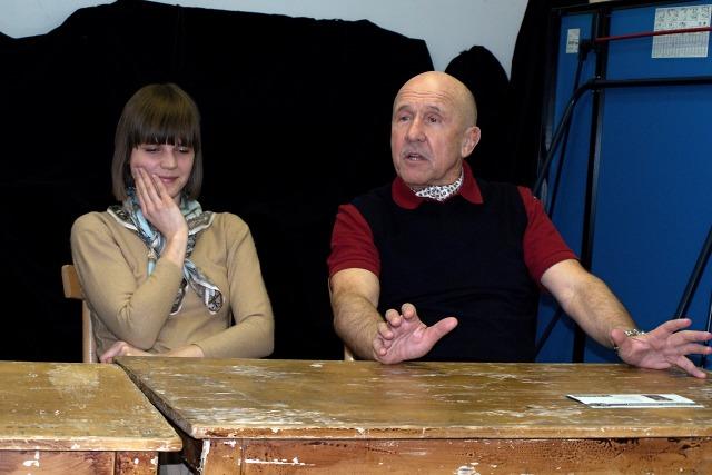 Zuzana Stavná, Petr Nárožný