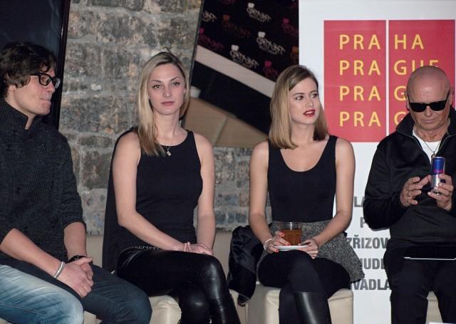 David Kraus, Barbora Poláková, Emma Smetana, Jiří Korn