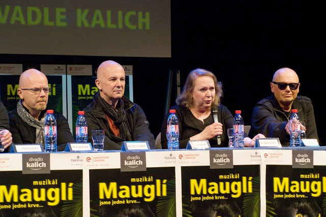 Michal Kocourek, Ondřej Soukup, Gabriela Osvaldová, Jiří Korn