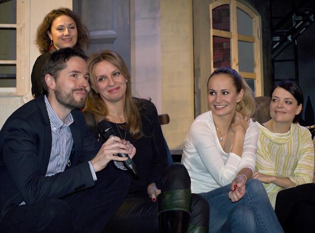 Michal Hrubý, Ivana Chýlková, Monika Absolonová, Jana Stryková, Zuzana Maurery (foto: Michal Novák)
