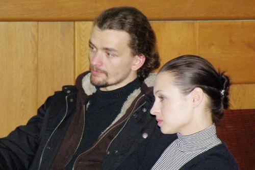 Dušan Vitázek aRadka Coufalová (představitelé Che aEvity)