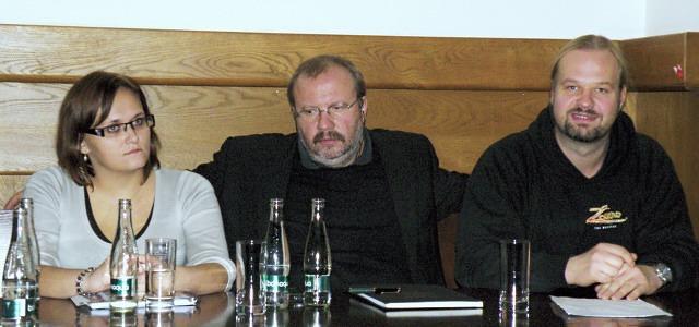 Klára Latzková, Stanislav Moša, Petr Gazdík