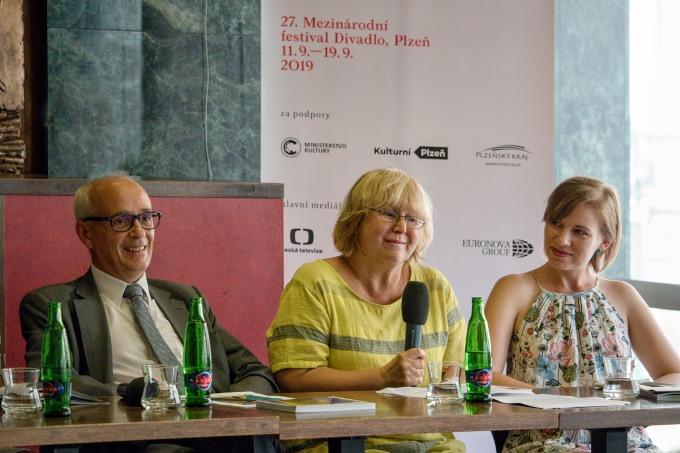 Jan Burian, Kamila Černá, Eva Kraftová