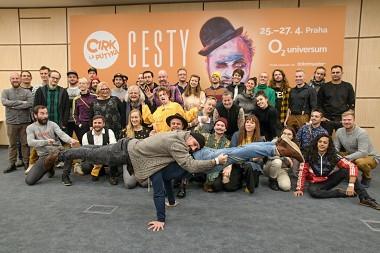 CESTY – největší projekt v historii Cirku La Putyka
